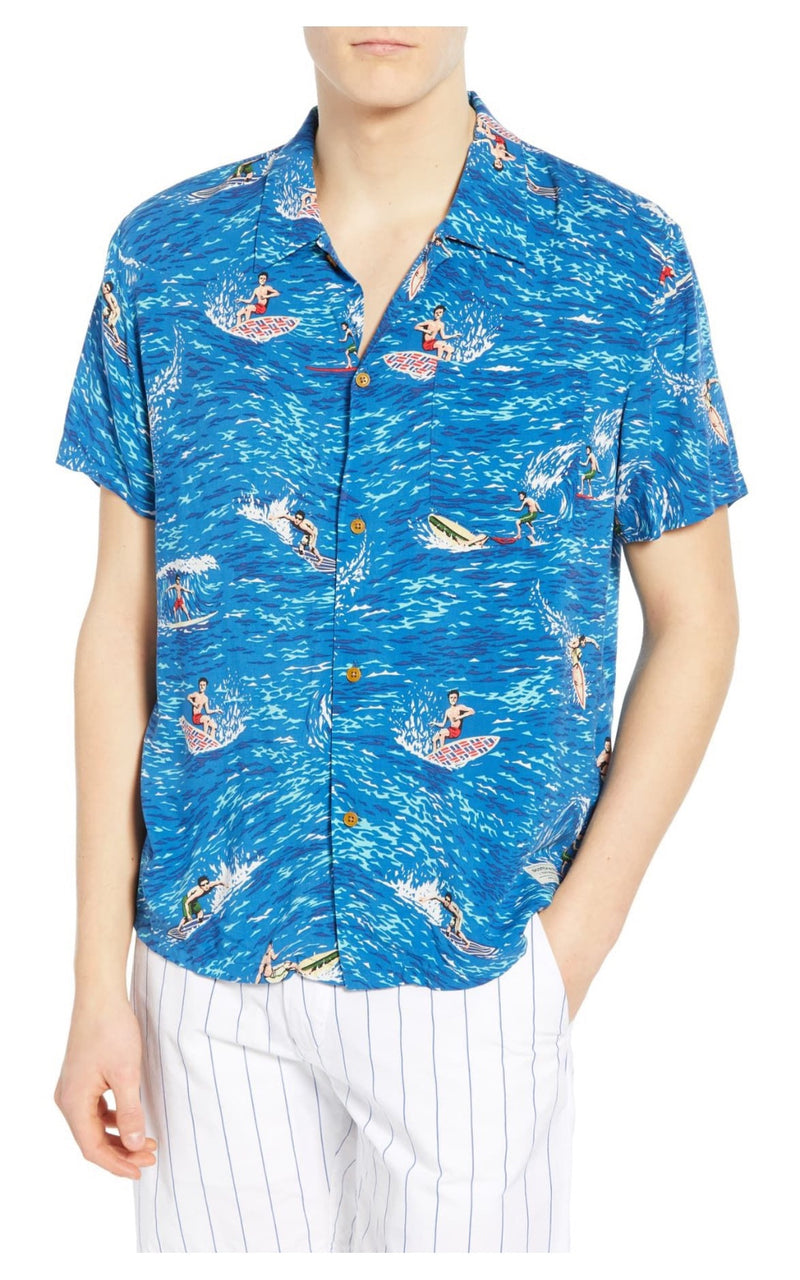 Hawaiian Fit Printed Shirt