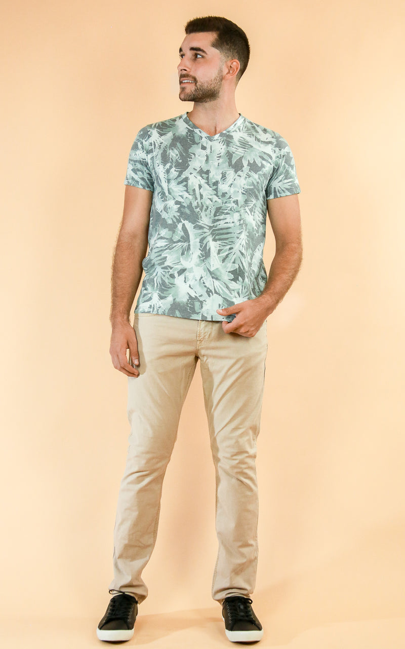 Sol Angeles Shirt in tropical print