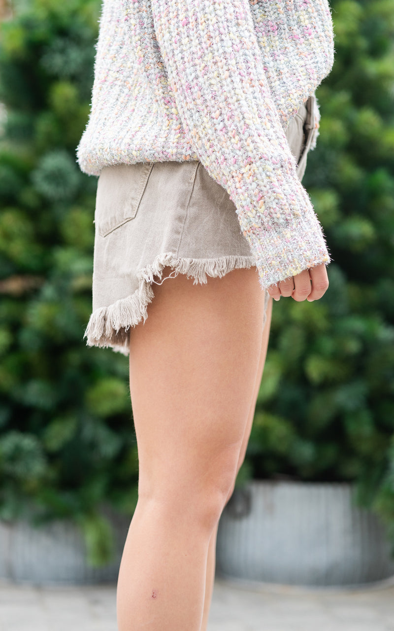 one teaspoon frayed shorts