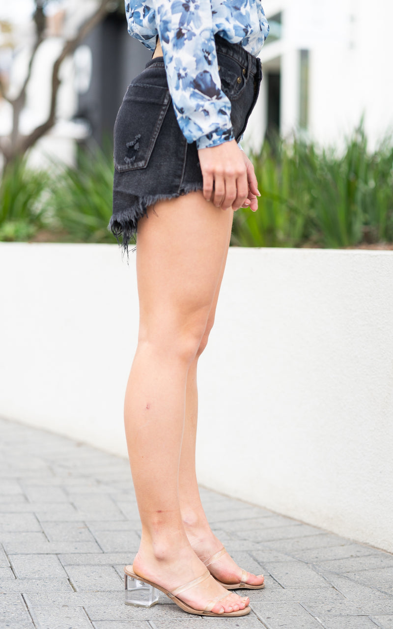 Frayed shorts by one teaspoon