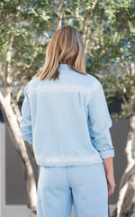 light wash jacket by bella dahl