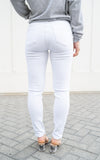 white stretch denim by one teaspoon