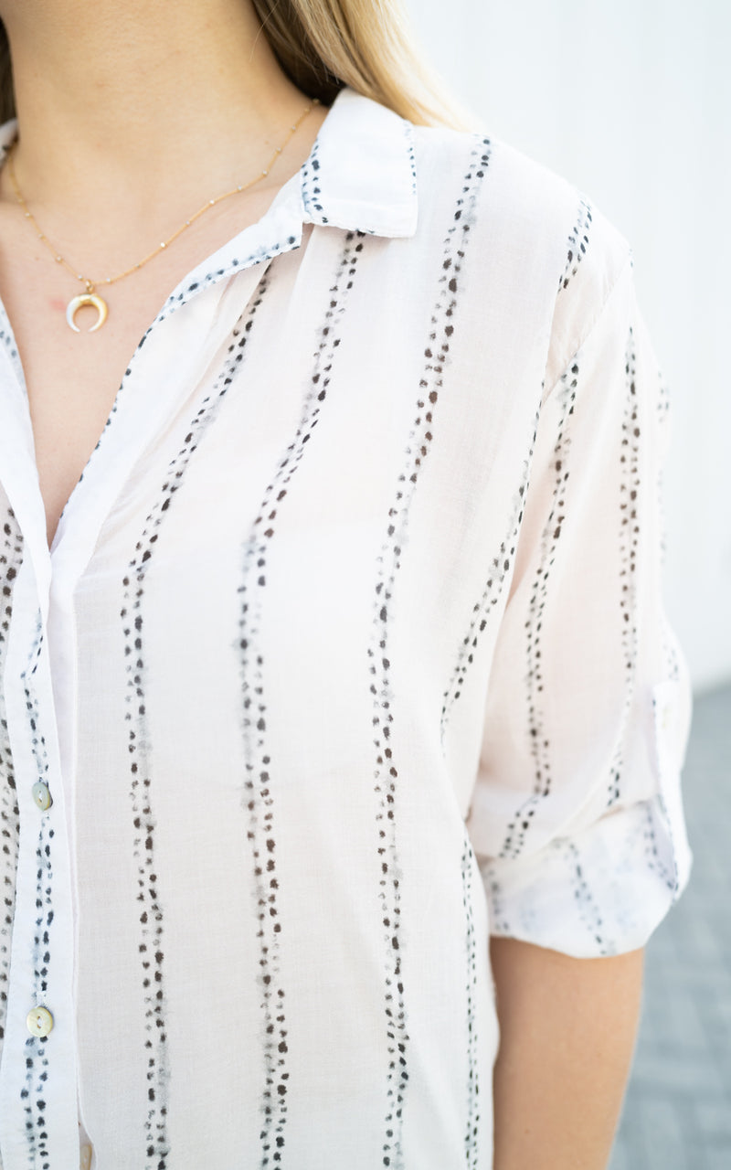 Capri Button Down
