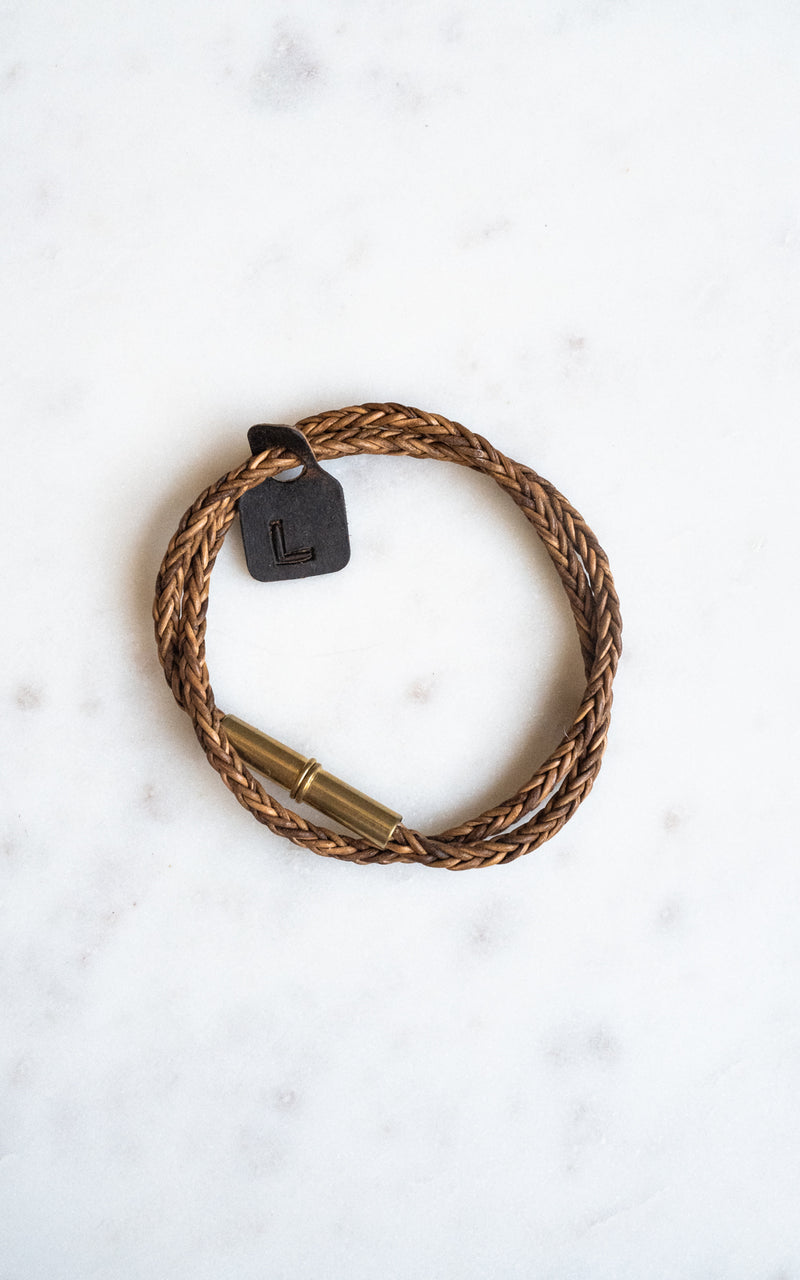 Flint Braid Bracelet Natural