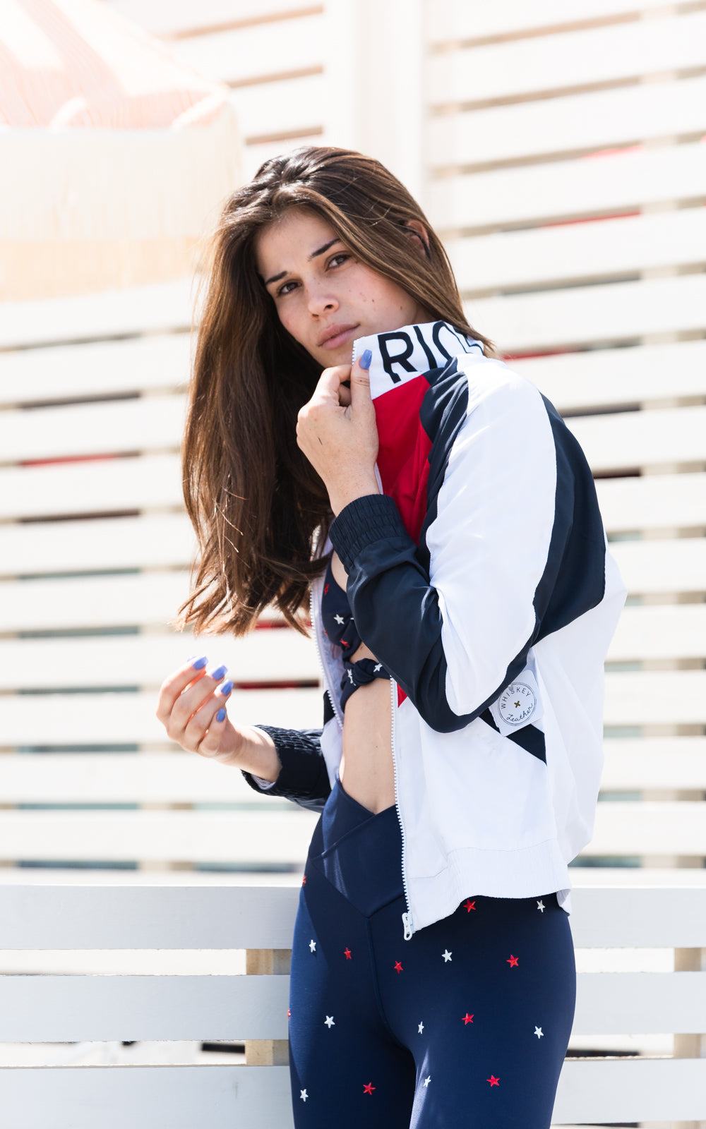 Riot Jacket Red White Blue