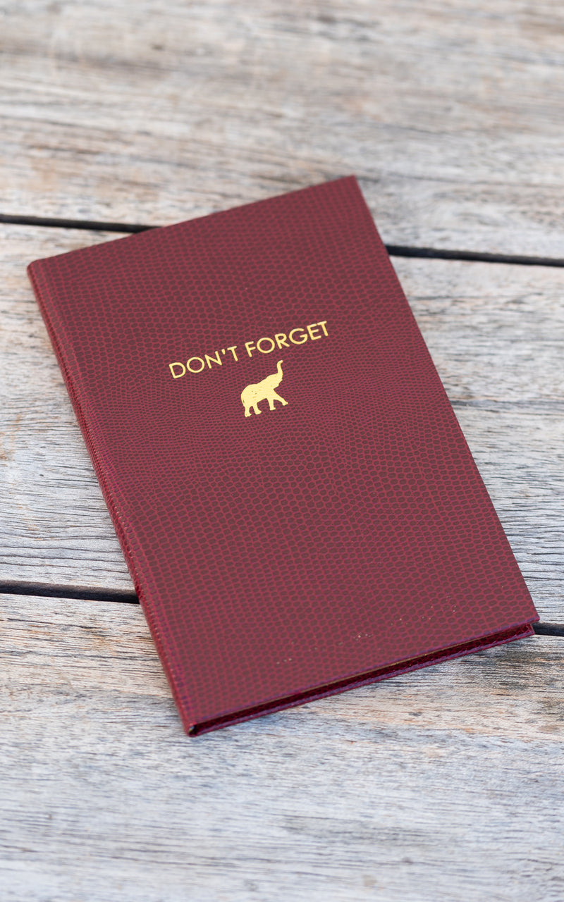 Don't Forget Pocket Notebook