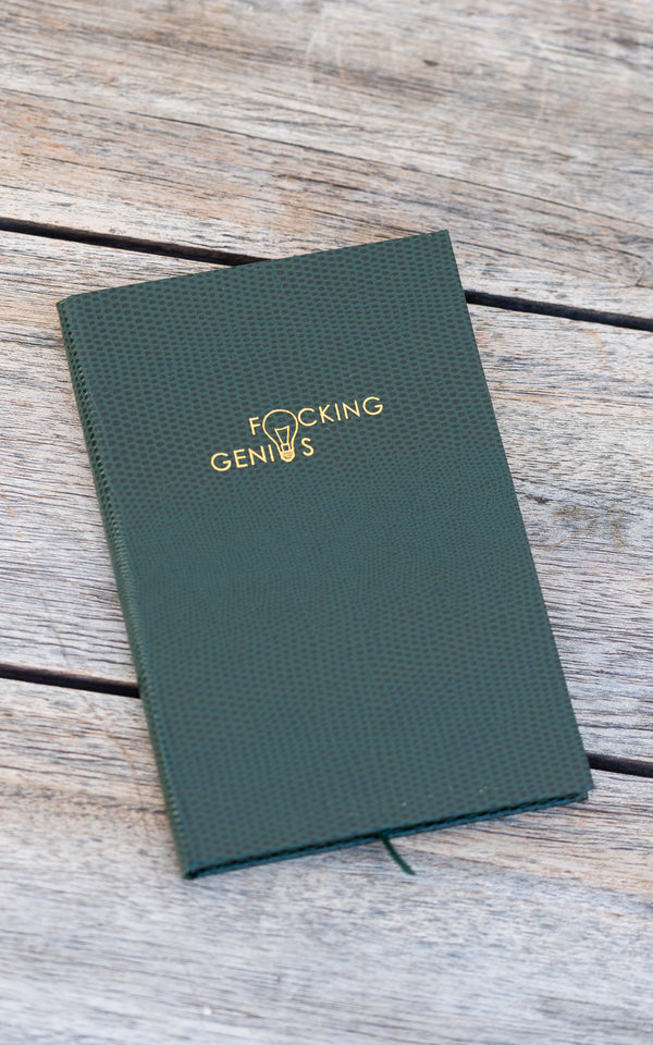F*cking Genius Pocket Notebook