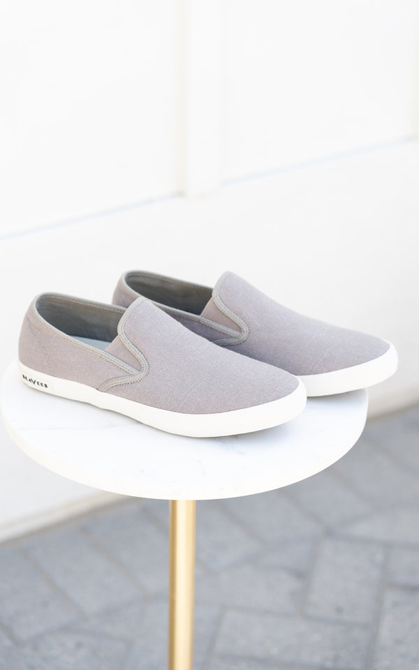 Baja Slip On Tin Grey