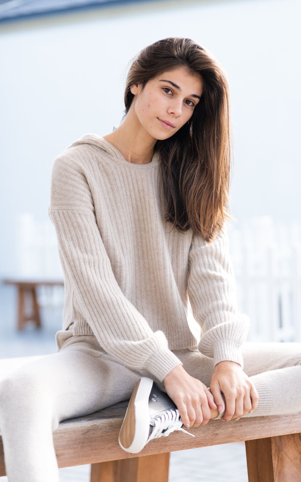 Oatmeal Cashmere Sweater