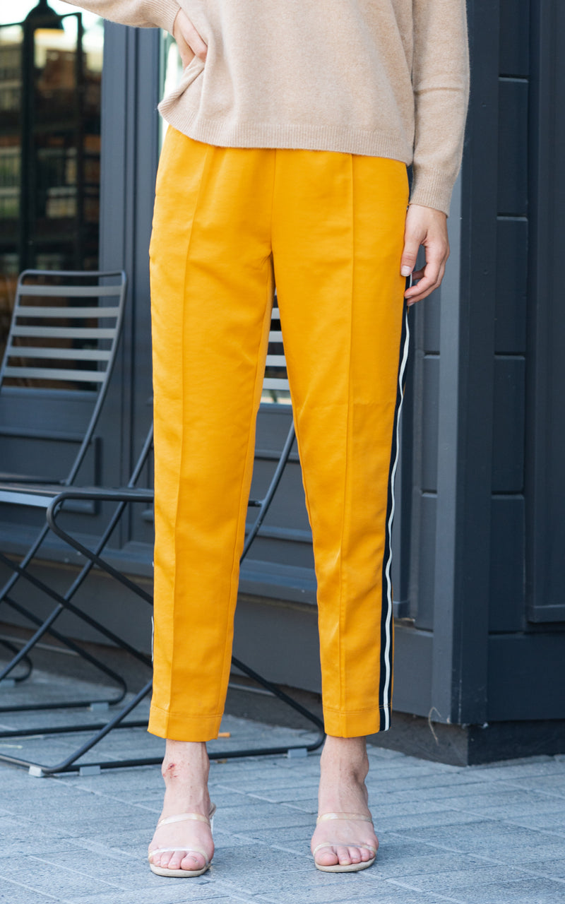 mustard joggers by scotch and soda