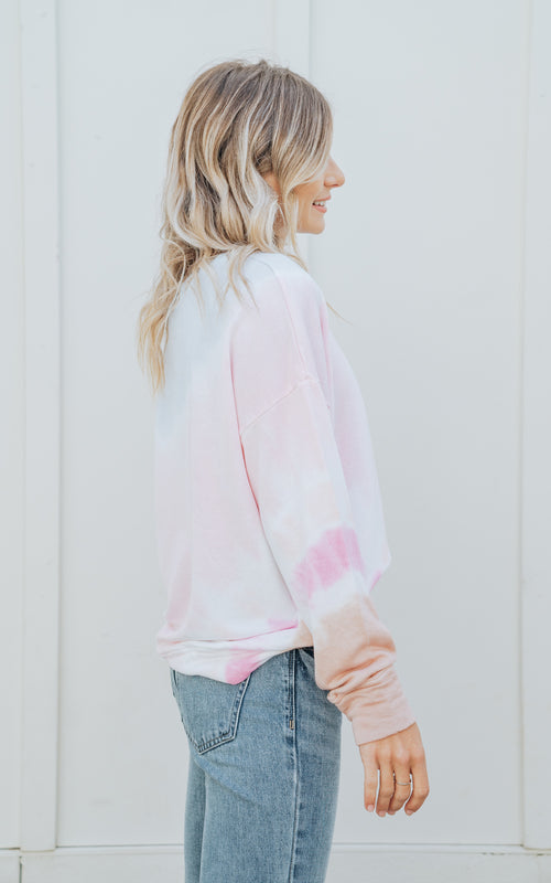Petal Terry Oversized Sweatshirt
