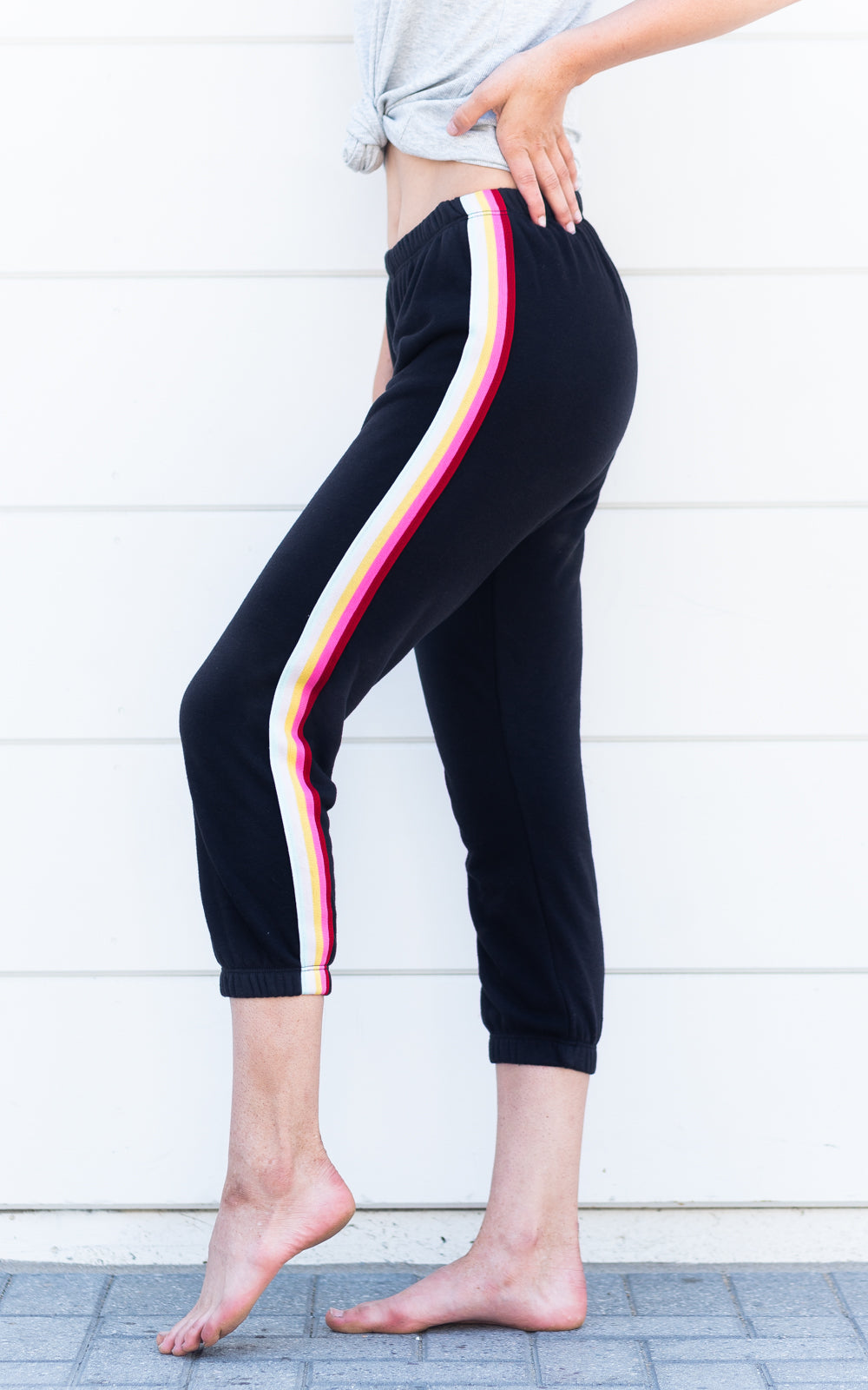 Stripe Perfect Sweatpant