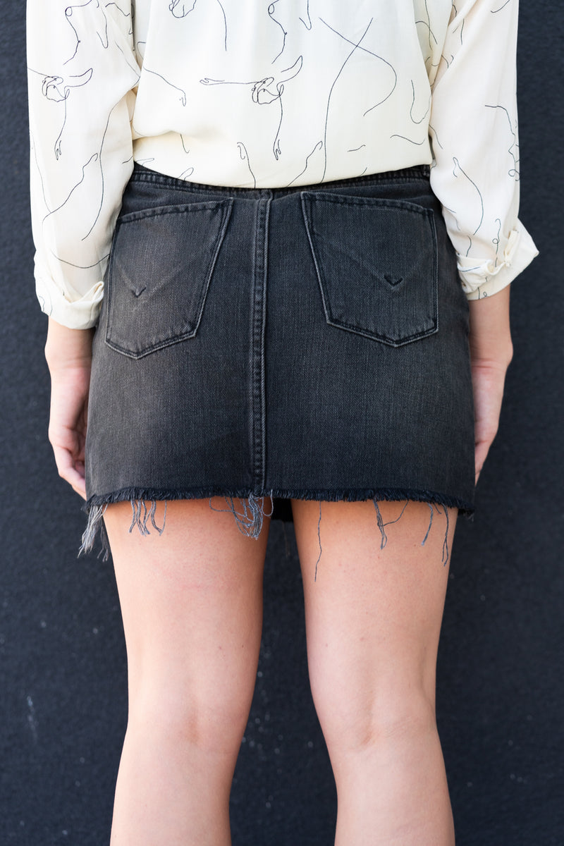 hudson void mini skirt