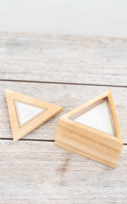 Woods Mini Triangle Leather & Oakmoss