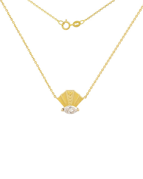 The Elizabeth Necklace White Sapphire