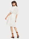 Broderie Anglaise Wrap Dress