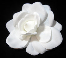 Load image into Gallery viewer, Bright White Gardenia HairFlower Clip and Pin