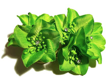 Load image into Gallery viewer, Rhododendron Hair Flower Clips -Pair