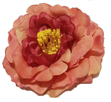 Load image into Gallery viewer, Mauve Pink Wild Rose Hair Flower Clip