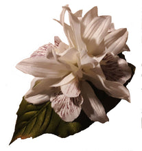 Load image into Gallery viewer, White Vanilla Orchid Hair Flower Clip