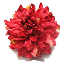 Load image into Gallery viewer, Bright Pink Dahlia Flower Hair Clip and Pin Back Brooch