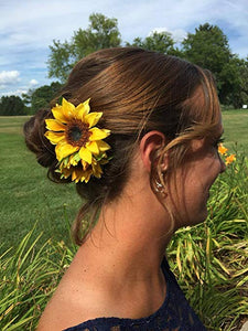 Quality Sunflower Hair Clip