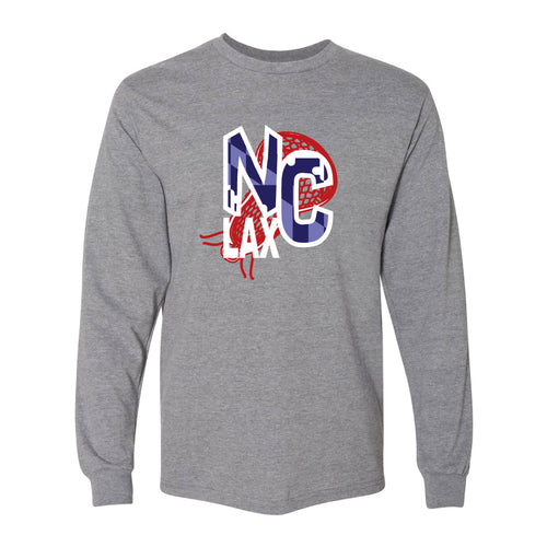 NC Boys Lacrosse Adult Long Sleeve