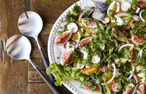 Orange And Figs Salad (Recipe)