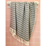 Load image into Gallery viewer, Geo Stripe Turkish Towel