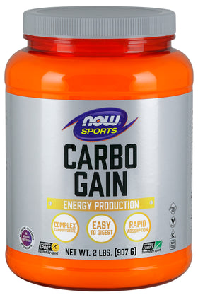 Now Carbo Gain 907 g