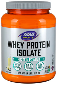 Now Whey Protein Isolate Creamy Vanilla 816 g