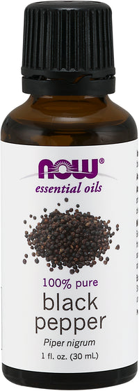 NOW Black Pepper Oil 30 ml *Clearance* EXP. 03/21
