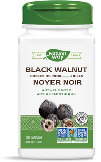 Nature's Way Black Walnut Hulls 100 Capsules