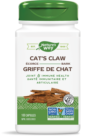 Nature's Way Cat's Claw Bark 100 Capsules
