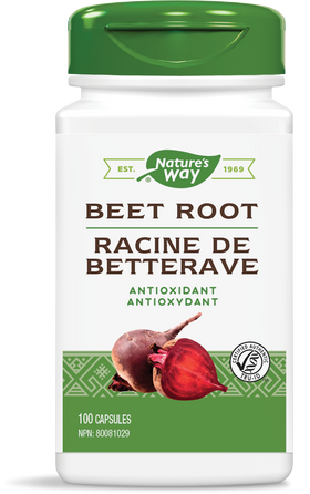 Nature's Way Beet Root 100 Capsules
