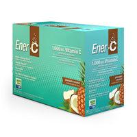 Ener-C Multivitamin Drink Mix Pineapple Coconut Box 30 Packets