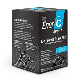 Ener-C Electrolyte Drink Mix Mixed Berry Box 12 Packets