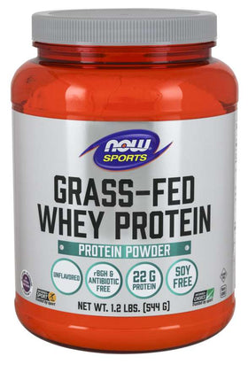 Now Grass-Fed Whey Protein Unflavoured 544 g