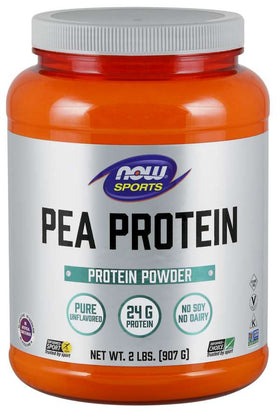 Now Pea Protein Unflavoured 907g
