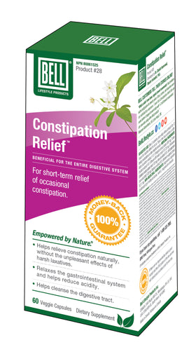 Bell Lifestyle Constipation Relief