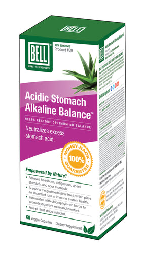 Bell Lifestyle Acidic Stomach Alkaline Balance