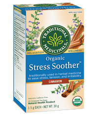 Traditional Medicinals Stress Soother Cinnamon 20 Tea Bags