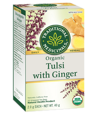 Traditional Medicinals Tulsi with Ginger 20 Tea Bags