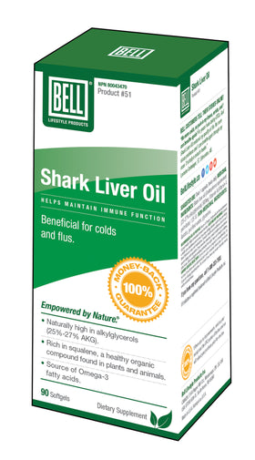 Bell Lifestyle Shark Liver Oil
