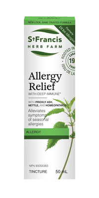 St. Francis Herb Farm Allergy Relief with Deep Immune