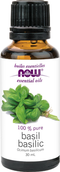 NOW Basil Oil 30 ml