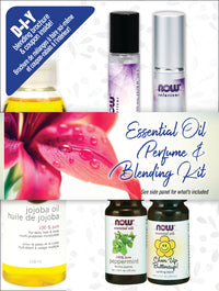 Now Essential Oil DIY Perfume & Blending 5pc Gift Set