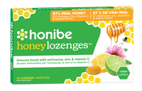 Honibe Honey Lozenges Citrus 10 Lozenges