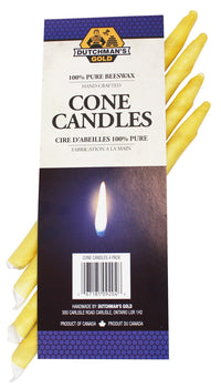 Dutchman's Gold Cone Ear Candles