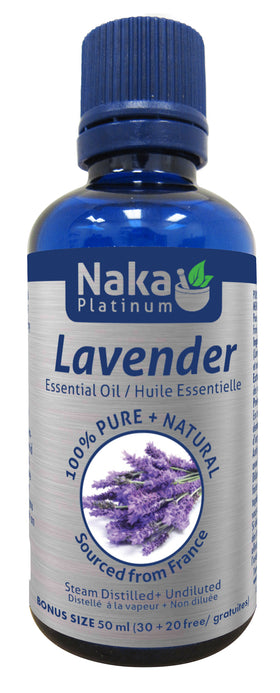Naka Essential Oil - Lavender 50ml